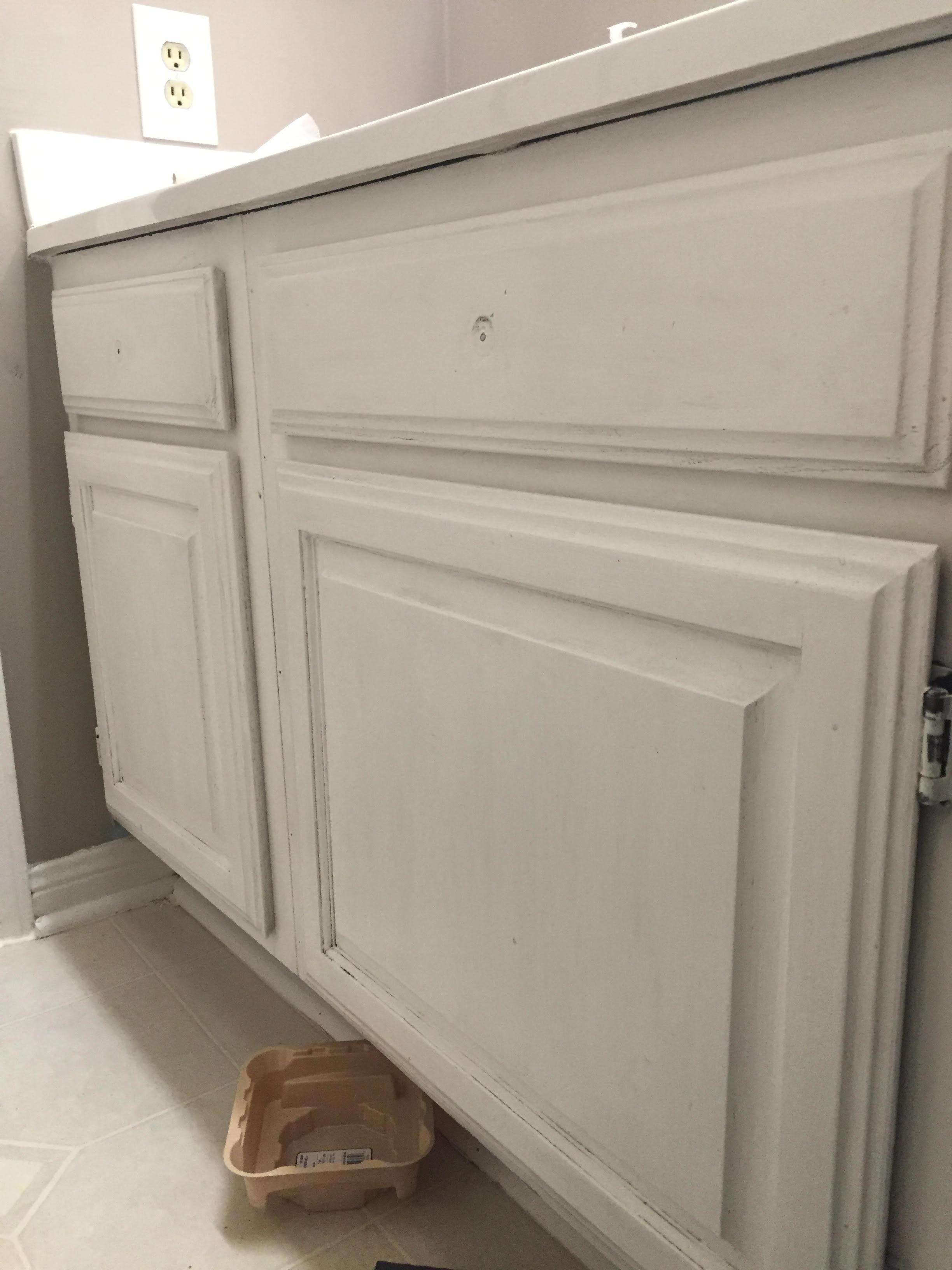 Bathroom Cabinet Makeover, Bathroom Cabinet Update, Bathroom Cabinet Diy  Distress, Distressed Furniture, ...